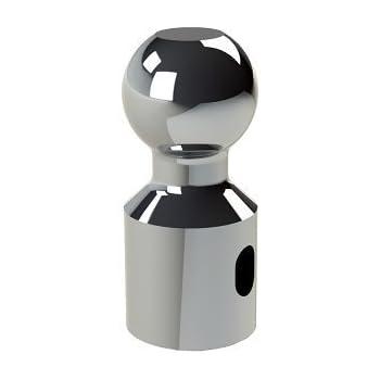 7500 GTW capacity 1500 lb Tongue Weight Weigh Safe WSB-L 1-7//8 Tow Ball