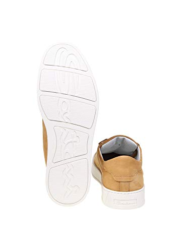 Uomo Marrone Mbgl21012pnnxsoom50 Santoni Pelle Sneakers 15wYqO