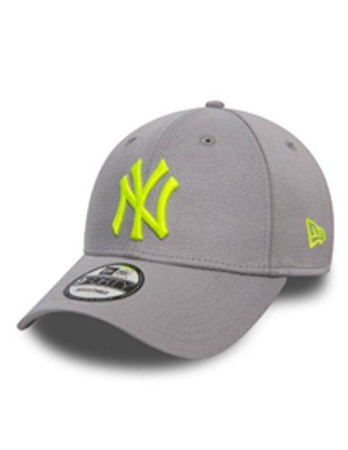 A NEW ERA 9Forty York Yankees - Gorra de béisbol para hombre, talla única, color gris