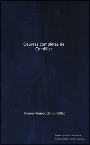 Book download pda Oeuvres complètes de Condillac (French Edition) DJVU