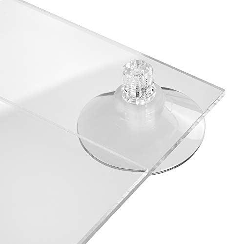 148x210mm DIN A5 Hoch Zeigis/® Acrylglastasche mit Saugn/äpfen f/ür Glasscheiben//Infotasche // Blatthalter//Schildhalter // Preisschildhalter//Plakattasche // Saugnapf//Haftsauger // Saugfu/ß//Transparent