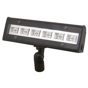 LED Floodlight, 10.7W, CRI 70, 489L, 5000K