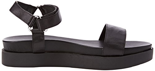 New Look Goal, Sandalias Open-Toe Mujer Negro (Black)
