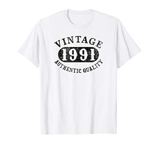 1991 Vintage 28 years old 28th B-day Birthday Gift T-Shirt