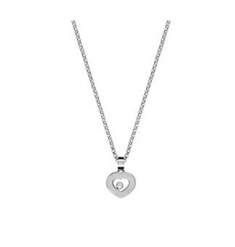 DS ICONS PENDANT 18K WHITE GOLD AND DIAMOND 792897-1001 (Chopard Diamond Necklace)