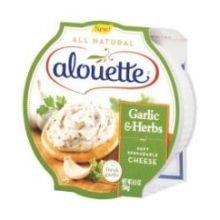 Alouette Garlic and Herb Spreadable Cheese - Bulk, 4.5 Pound -- 2 per case. by Anco Fine Foods