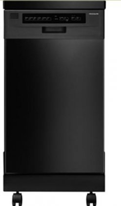 18 inch dishwasher black - 3