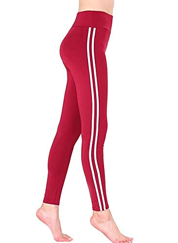 Lunule Mallas Fitness Mujer de Cintura Alta Pantalones ...