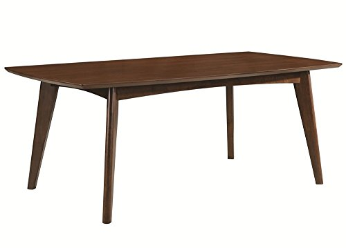 Louis Philippe Dining Room - Coaster 105351 Home Furnishings Dining Table, Dark Walnut