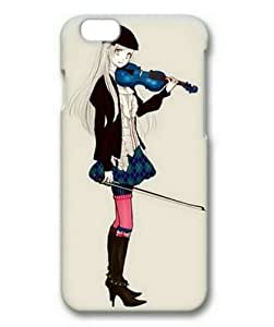 Custom IPhone 6 Cover Cool 0077697 girl playing violin case for iphone 6 3d pc material Apple IPhone 6 Case