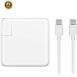 """Vanfast USB-C Charger with 87W Power Delivery 3.0 Port,Replacement for MacBook Pro with 13"""" 15"""" After 2016 and Mac Book Air 2018,Compatible with Samsung,Nexus,enovo,ASUS,Acer,Dell USB-C Port"""