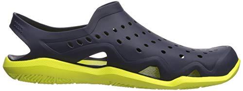Crocs Men's Swiftwater Wave M Water Shoe Navy/Citrus 4 M US by Crocs (Image #8)