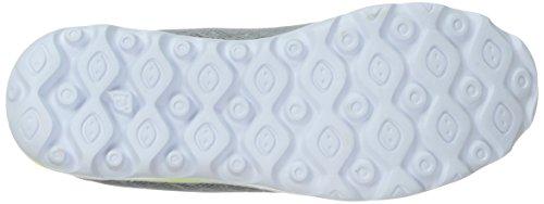 Propet Damen TravelActiv Zip Walking Schuh Silber / Limette