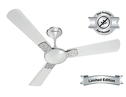 Buy havells enticer art 1200 mm anti dust ceiling fan white pack of havells enticer art 1200 mm anti dust ceiling fan white pack of 2 mozeypictures Images