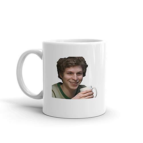 Michael Cera Mug 11 Oz White Ceramic