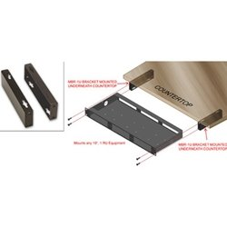 2 RDL MBR-1U 19 Mounting Bracket - Mount 1 RU Product Under a Shelf (Mounting Kit Rack 19in)