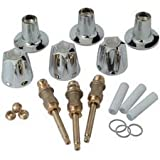 3 piece shower tub - BrassCraft SK0273 Tub and Shower Rebuild Kit for Price Pfister Faucet Current Style Verve, Chrome