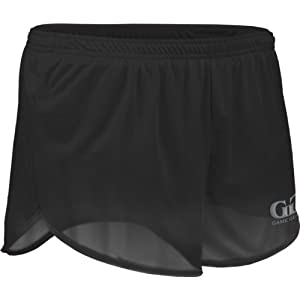 "TR60 Men's 2.5"" Athletic Lightweight Track Short with Waistband and Side Vent (X-Large, Black)"