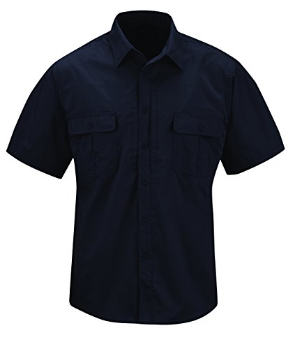 Propper Men's Kinetic Shirt Short Sleeve Shirt, LAPD Navy, 3X-Large