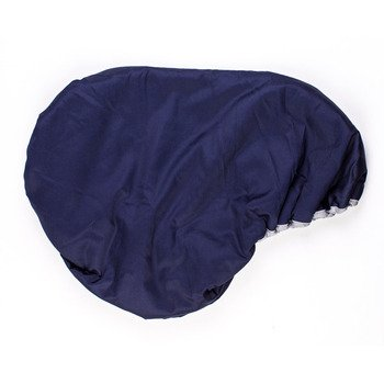 Lettia Fleece Lined Dressage Saddle Cover Navy