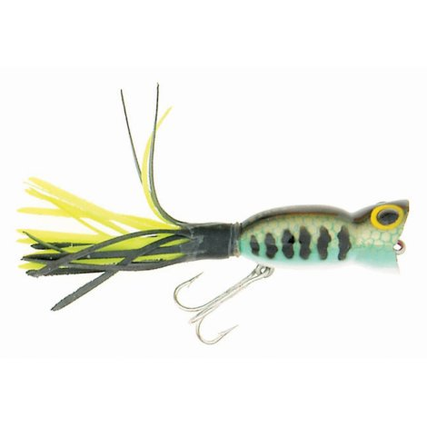 - Arbogast BASS HULA POPPER G730 Attracts bass & other big fish