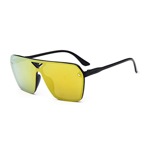 G&T 2016 New Mens Fashion Personality Uv Protection Colorful Rectangular - Bausch Wayfarer And Lomb Sunglasses