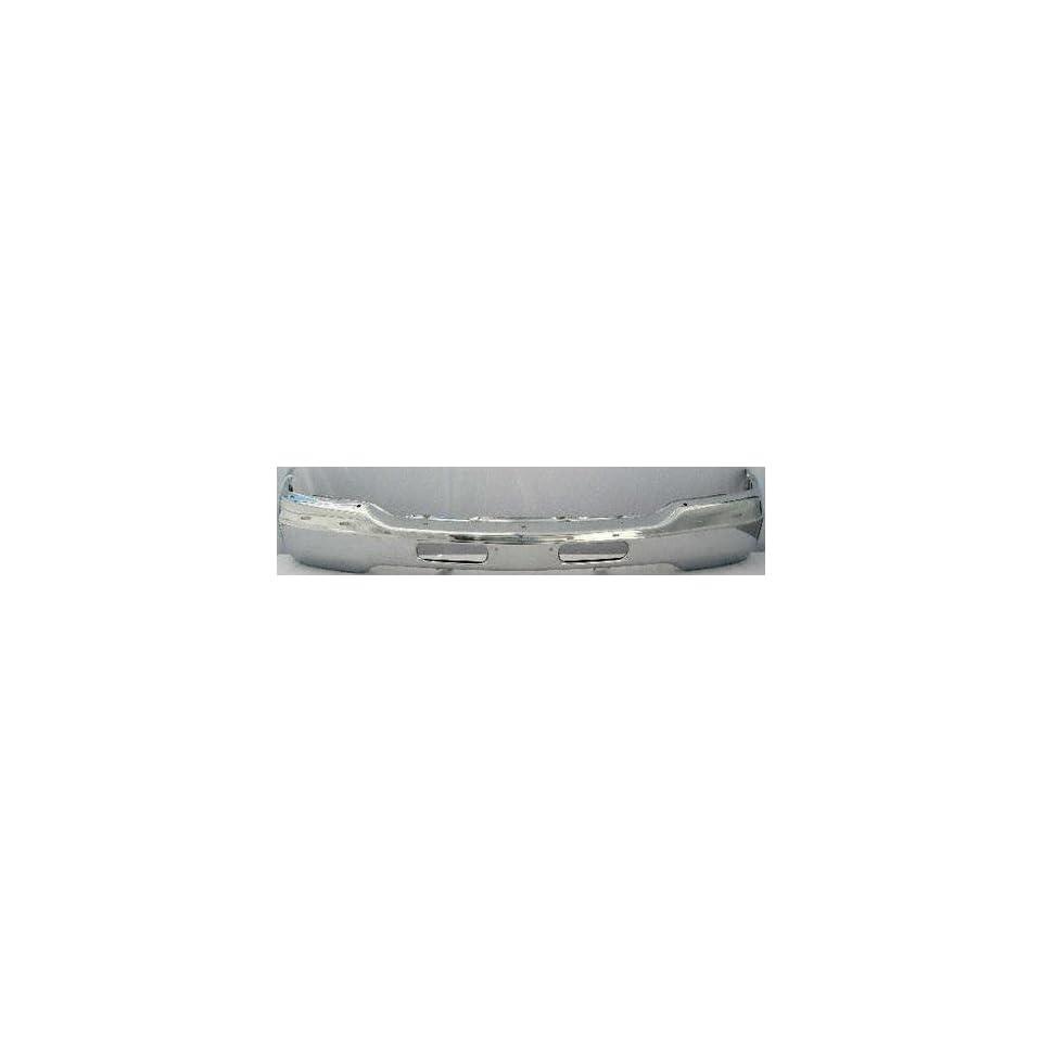 99 02 GMC SIERRA PICKUP FRONT BUMPER CHROME TRUCK, Diesel Only, W/AIR HOLES (1999 99 2000 00 2001 01 2002 02) 20114 15759060