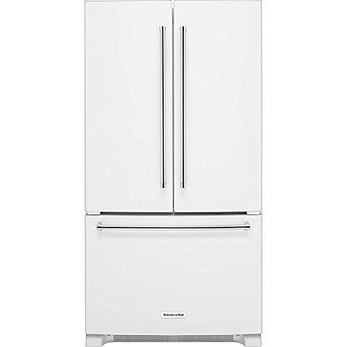 Kitchenaid - 20.0 Cu. Ft. Counter-depth French Door Refriger