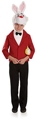 Alice In Wonderland Costume For Boys (Kids Mr White Rabbit Costume Children's Book Week Fancy Dress -)