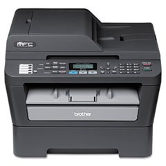 (6 Pack Value Bundle) BRTMFC7460DN MFC-7460DN Compact All-in-One Laser Printer, Copy/Fax/Print/Scan