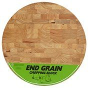 (Catskill Craftsmen 13.5 IN ROUND by 1.5 IN Wood End Grain Round Cutting Slab with Feet)