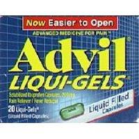 Advil Liqui-Gels 20s Size 20s Advil Ibuprofen Pain