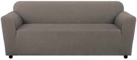 SureFit Stretch Triangle Sofa Slipcover, Gray