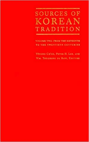 Book Sources of Korean Tradition