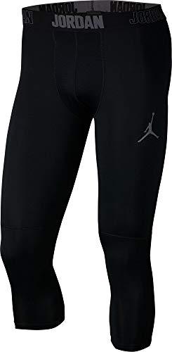 Jordan Dry 23 Alpha 3/4 Men's Training Tights (Black/Dark Grey, Large)