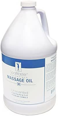 Master Massage SpaMaster Essentials Unscented Massage Oil, 1 Gal