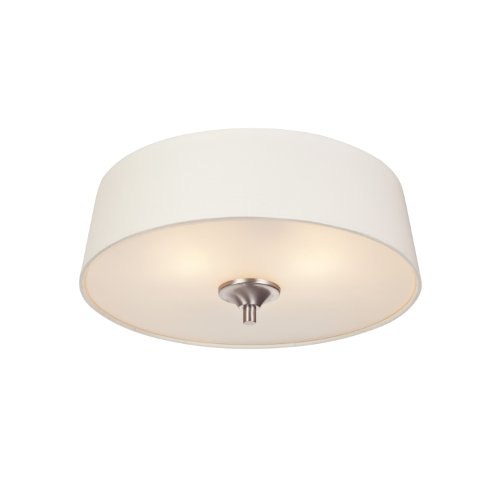 westinghouse-6225900-parker-mews-two-light-interior-flush-mount-ceiling-fixture-brushed-nickel-finis