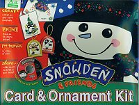 Snowden & Friends Card & Ornament Kit (Win/ Mac) by Print Paks