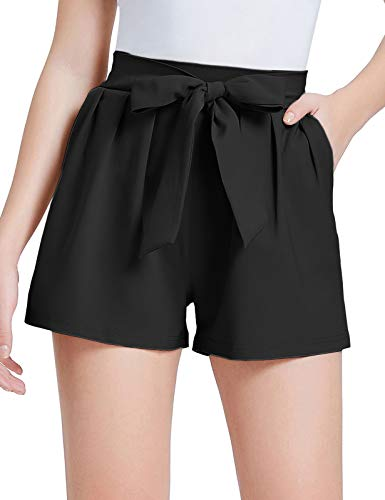 GRACE KARIN Women Summer Casual Shorts Loose fit Shorts with Belt