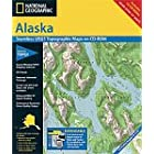 National Geographic TOPO! Alaska Map CD-ROM (Windows)