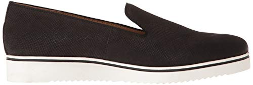 B 5 Sarto US Franco 8 Fabrina M Black Loafer Women's Flat SxBqx80