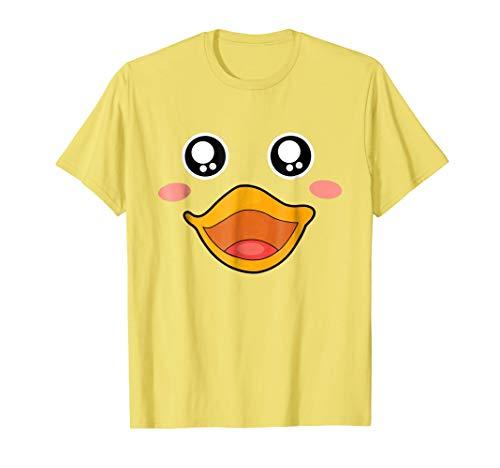 Halloween Costume Shirt - Rubber Duck Lips Face