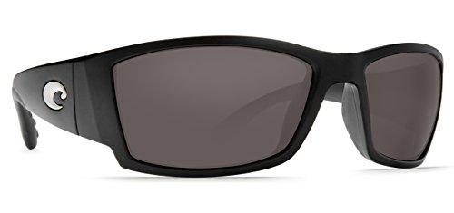 Costa Del Mar Corbina Polarized Sunglasses Black Gray
