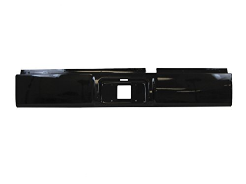 Painted Black Clear Rear Steel Roll Pan 2002-2008 Dodge RAM 1500 / 2003-2009 RAM 2500 3500 Pickup
