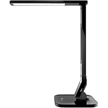 Lampat Dimmable Led Desk Lamp Black Amazon Com