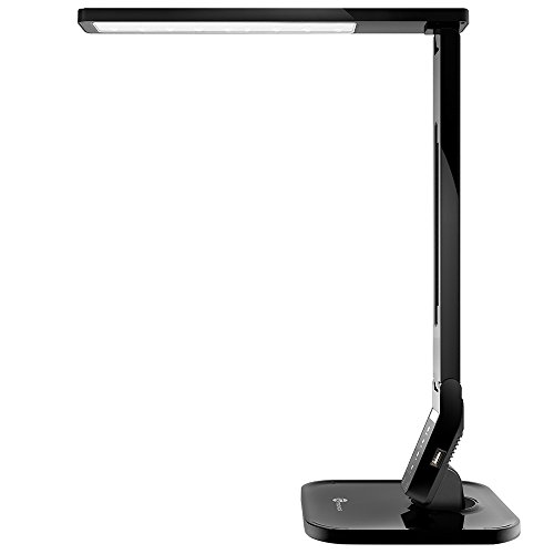 TaoTronics 14W LED Desk Lamp with USB Charging Port, Touc...