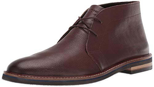 Bostonian Men's Dezmin Mid Chukka Boot Dark Brown Leather 100 M US