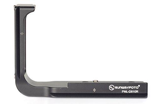 SUNWAYFOTO PNL-D810R L Plate for Nikon D810 / D800 / D800E Camera Arca / RRS Compatible Sunway