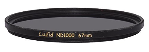 LUŽID 67mm ND1000 MC Filter Schott B270 Glass Brass Frame ND 3.0 Multi-Coated 67 Luzid