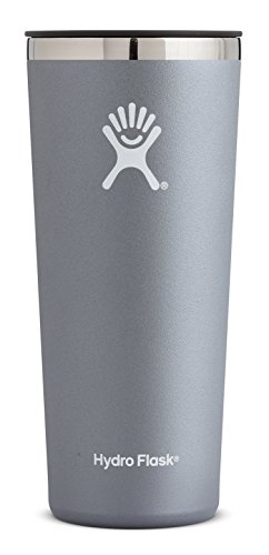 Coffee Flask (Hydro Flask 22 oz Double Wall Vacuum Insulated Stainless Steel Travel Tumbler Cup with BPA Free Press-In Lid, Graphite)